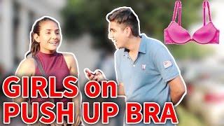 Video Delhi Girls On PUSH UP BRA   Why Do Girls Wear Them?   RealSHIT MP3, 3GP, MP4, WEBM, AVI, FLV Oktober 2017