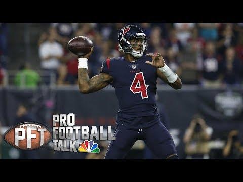 Video: Deshaun Watson returning to last year's form I Pro Football Talk I NBC Sports