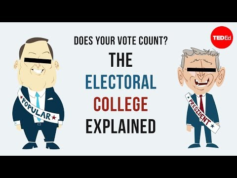 voting - View full lesson: http://ed.ted.com/lessons/does-your-vote-count-the-electoral-college-explained-christina-greer You vote, but then what? Discover how your i...