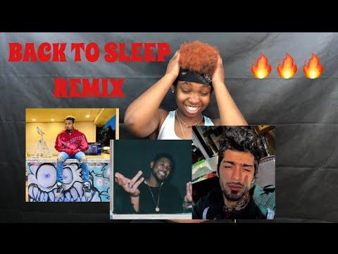 CHRIS BROWN - BACK TO SLEEP REMIX FT. USHER & ZAYN |REACTION|