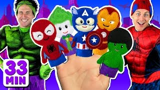 Download Lagu Superheroes Finger Family and more Finger Family Songs! Superhero Finger Family Collection Mp3