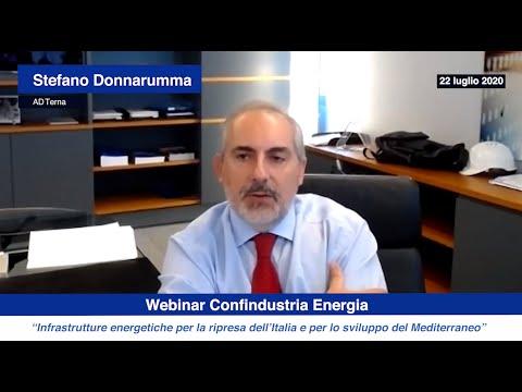 L' ad Terna Stefano Donnarumma a Confindustria Energia