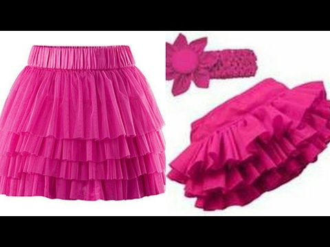 Video Ruffle skirt DIY| how to make ruffle skirt step by step tutorial download in MP3, 3GP, MP4, WEBM, AVI, FLV January 2017
