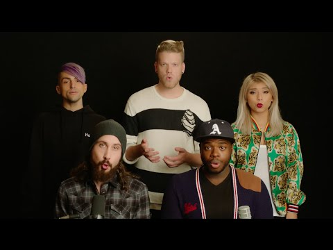 No - Pentatonix (Meghan Trainor Cover) (видео)