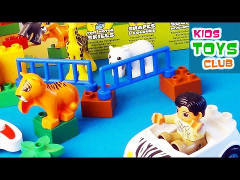 """Конструктор LEGO Duplo 6136 """"Мой первый зоопарк"""""""