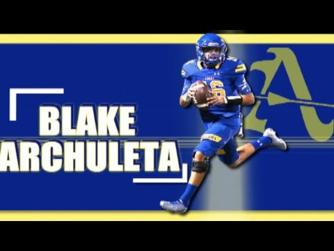 QB Blake Archuleta '19 : Bishop Amat High (La Puente, CA) Sophomore Year Full-Season Highlights