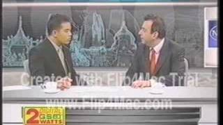 Professor Peskin Interview Newsline Thailand 2001