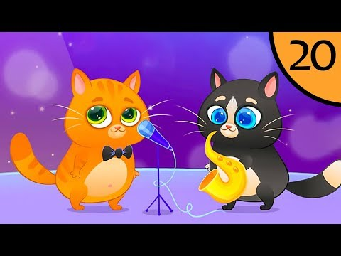 Суровый КОТИК БУБУ #20. Музыкальная группа. Мультик ИГРА про котят на Игрули TV