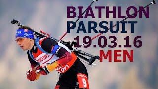 Khanty-Mansiysk Russia  City new picture : BIATHLON 2016 / World CUP 9 /PARSUIT/ MEN/19 of March/ Russia / Khanty-Mansiysk
