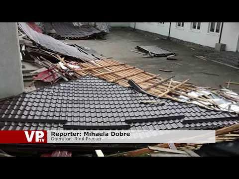 Școală fără acoperiș, după vijelie