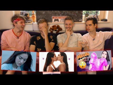 Reageren op YouTubers die wij niet kijken.. (видео)