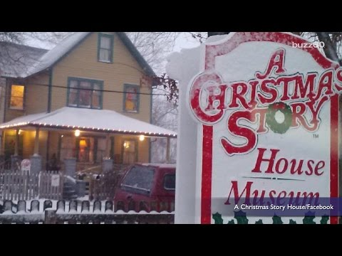 You can bid to win a stay in the house from 'A Christmas Story' over Christmas