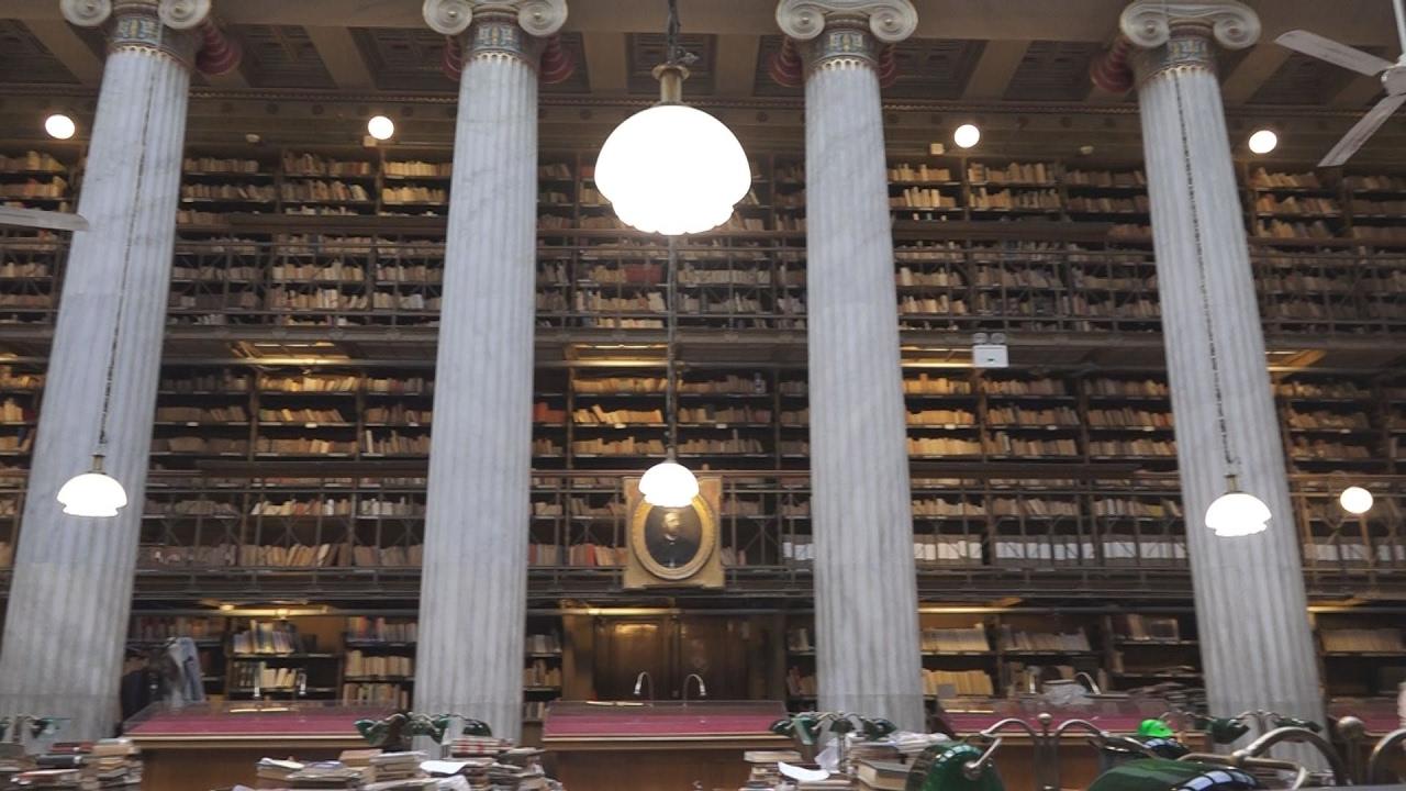 Η Εθνική Βιβλιοθήκη της Ελλάδος ζει ιστορικές στιγμές