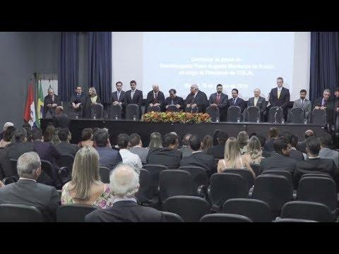 Rui Palmeira prestigia posse de novo presidente do TRE/AL