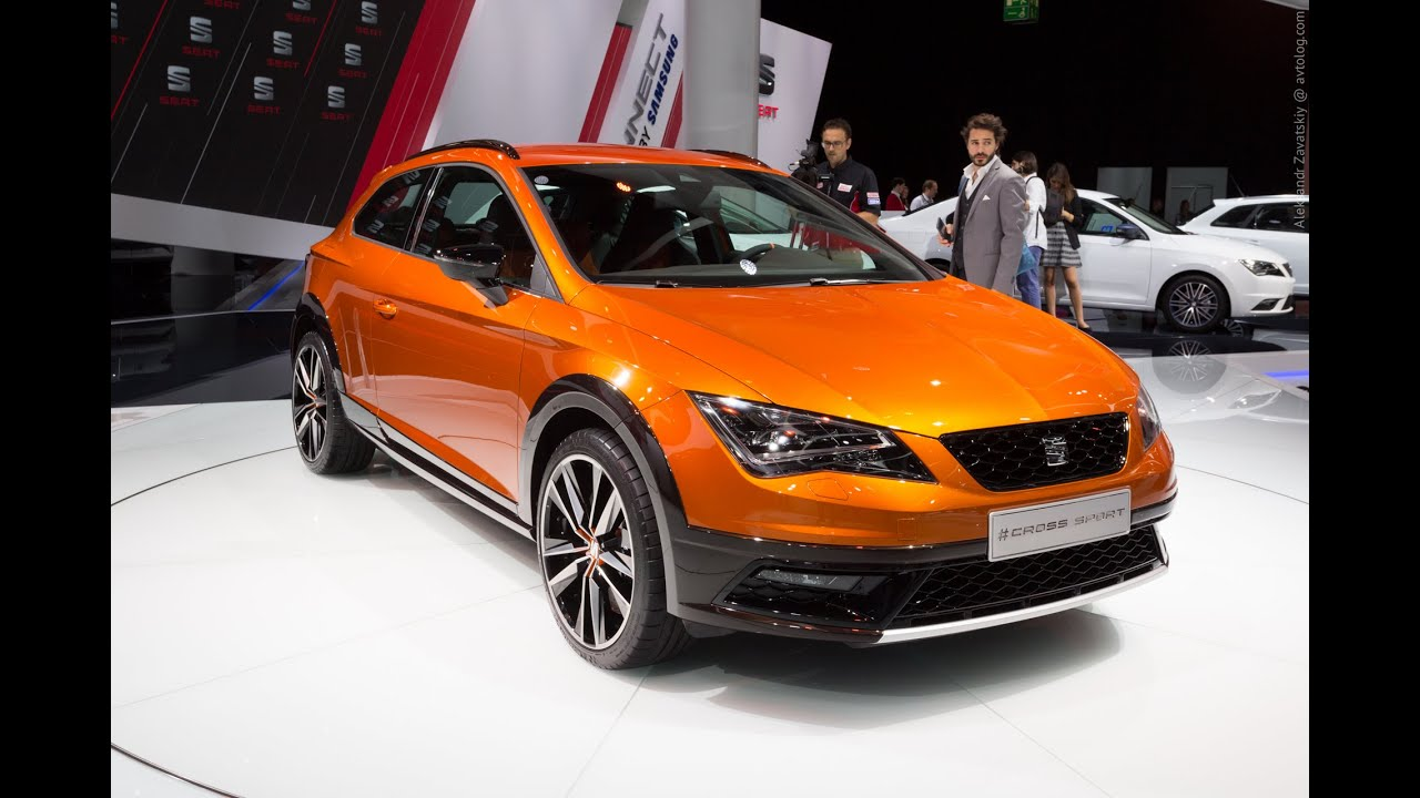 2015 Seat Cross Sport Concept: Франкфурт 2015
