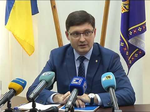 Пресс-конференция городского головы Вадима Бойченко