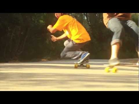 A day in Deia, longboarding