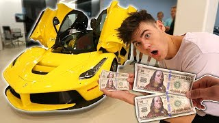 Video USING FAKE $2,000,000 TO BUY MY DREAM CAR! (Then This Happens) MP3, 3GP, MP4, WEBM, AVI, FLV November 2017