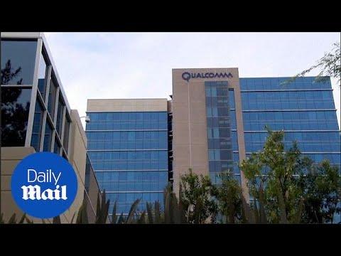 Trump blocks Singapore company Broadcom takeover of Qualcomm - Daily Mail