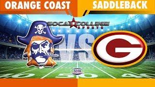 SCFA Football Week 8: Orange Coast at Saddleback - 10/19/18 - 6pm