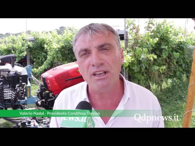 Susegana - Più meccanica e meno chimica: Condifesa per un agricoltura sostenibile