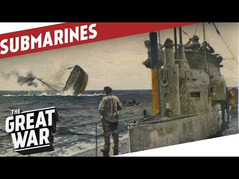 The Invention And Development of Submarines I THE GREAT WAR Special