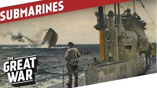 ww1 U-boats in the Atlantic