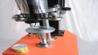 Model YX-160A tabletop can sealing machine is applicable of sealign the cans like tea cans/easy open cans/metal cans/paper cans .The sealing machine is characteristic of low working noise.compact structure as well as taking up small space than the traditional cans sealing machine like our model YX-41AA series.basic parameter of model YX-160A tabletop cans sealing machine semi automatic paper can sealer equipment 半自動台式封口機:Model YX-160A Capacity:25cans per minApplicable height: 39mm-280mmCans diameter φ35-φ220mmPower:370wMachine size:L620×W260×H880Packign size:800×350×1000mmNet weight:70Kg Gross Weight:84KGIt can seal different cans with various sizes of diameter by changing mould of punches.It is the perfect choice for the small workshop or medium drinking company in the sealing of cans.According to our customers' requirements we design and manufacture the cans sealing machine in order to solve the problem in difficult adjustment of sealing plum taking up too much space. The price is economical than the model YX-42AA series while the later is more advanced in sealing problem by keeping the cans stationary.The small bear from cutter arm rotates together with the Camshaft .The left roller correspondswith the lower Cam; the right roller with the upper cam .The roller will start to roll-sealby means of lever principle when the lower small bearing touch the small cam. Theoreticallythe cans should lift to the position just to line with the punch .At the same time the positionis the optimal value to adjust the height of shaft .(this is the key point and tip)After-sales service on model YX-160A tabletop cans sealing machine semi automatic paper can sealer equipment 半自動台式封口機:Guarantee: for all the machine, it claims one year for guarantee.(Excluded from the warranty are problems due to accidents, misuse,misapplication, storage damage,negligence, or modification to the Equipment or its components. ALSO THE EASY BROKEN SPARE PART IS NOT INCLUDED IN THE GUARANTEE)Installation: a