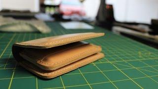 Veg tan minimalist wallet