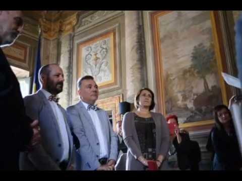 Prima Unione Civile a Viterbo: Massimiliano e Maurizio sposi