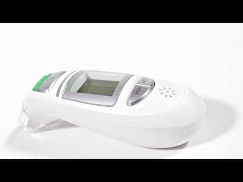 Infrarot-Fieberthermometer für Stirn & Ohr Medisana TM 750