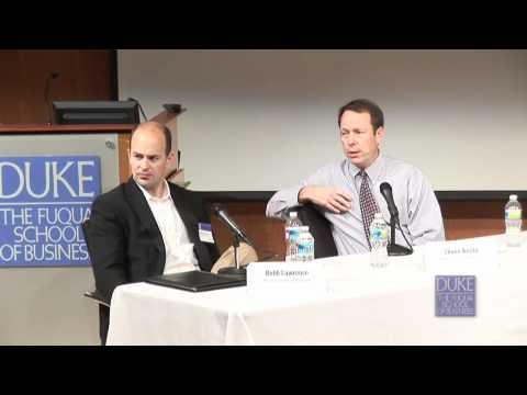 Duke MBA Gesundheitswesen Konferenz: Pharma-Panel