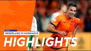 Highlights Netherlands - Hungary 8-1 wc-qualification 11-10-2013