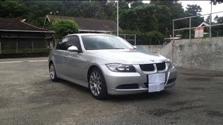 2008 BMW 320i (E90). Start Up, In Depth Review, Test Drive