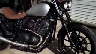 9. Custom 2014 Yamaha Star BOLT (R-Spec) BBR Custom Urban Brawler Build