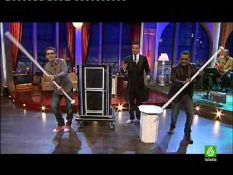 el mejor truco de magia del mundo en el programa de buenafuente 23-04-2009