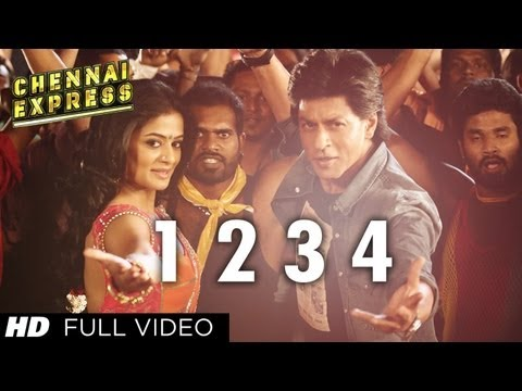 One Two Three Four Chennai Express Full Video Song | Shahrukh Khan, Deepika Padukone