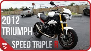 1. 2012 Triumph Speed Triple R | First Ride