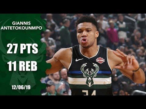 "Video - NBA: ""Πάρτι"" του Γιάννη με Κλίπερς"