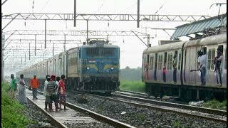 Nonton Awesome Rainy Afternoon   Lucknow Ac Express With Jhs Wag7 Says Hello   Indian Railways Film Subtitle Indonesia Streaming Movie Download