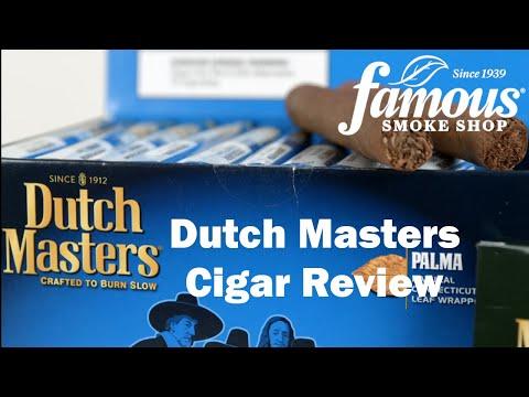 Dutch Masters Cigar Review - Famous Smoke Shop