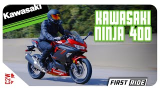 6. 2019 Kawasaki Ninja 400 | First Ride