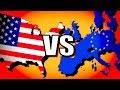 Download Lagu United States vs European Union (USA vs EU) | Hearts of Iron 4 [HOI4 Modern Day] Mp3 Free