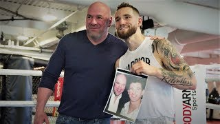 Dana White Reconnects with Undefeated Boxer Cody Crowley by UFC