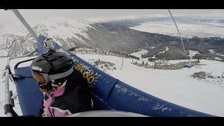 Bansko Bulgaria  city images : Bansko Bulgaria Skiing 2016 Slopes GoPro : Банско Ски Сезон 2016 - Писти