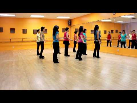 Timber (By Alison & Peter) – Line Dance (Dance & Teach in English & 中文)