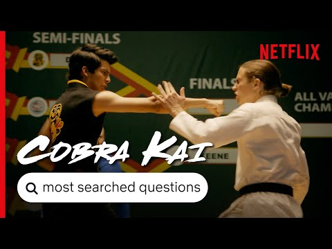 Cobra Kai S3 - Answers To The Most Searched For Questions | Netflix