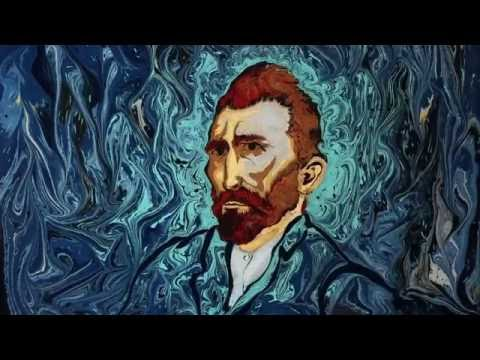 Talented artist paints on water using an ancient Turkish art technique!
