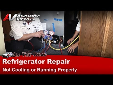 Maytag Refrigerator Repair – Not cooling or running – MBF2258XEB4