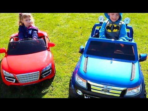 Детский Электромобиль Новая Машина Покупаем Новый Джип Андрюше Тест Драйв онлайн видео